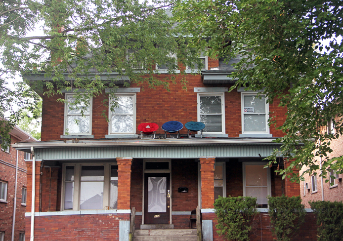 Some OSU students living on 13th Avenue recently discovered a stranger was living in their basement. Credit: Ritika Shah / Asst. photo editor