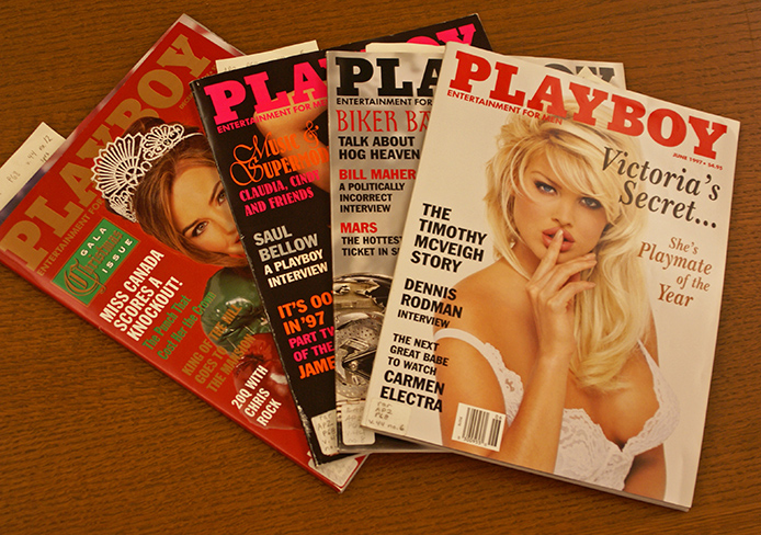 OSU has 'Playboy' magazines in the Rare Books and Manuscripts Library of William Oxley Memorial Library. Credit: Michele Theodore / Copy chief