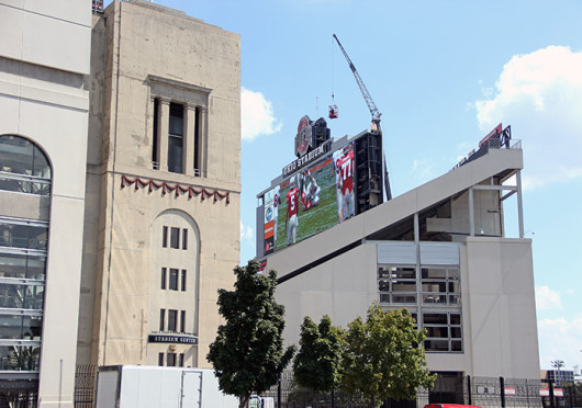 The Zero Waste initiative is a recycling program that has been in place at Ohio Stadium since the fall of 2011. Credit: Lantern file photo