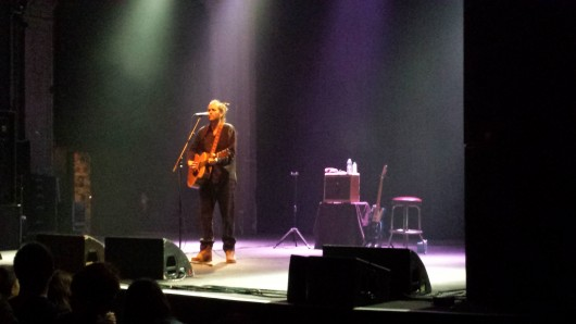 Clarence Greenwood, who goes by the stage name Citizen Cope, plays an acoustic show at the Newport Music Hall Sept. 15.  Credit: Andrew Todd-Smith / Lantern reporter