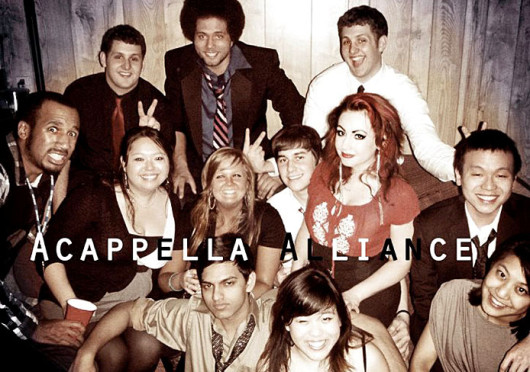 Members of the A Capella Alliance at Ohio State. The group is set to host A-Creep-Ella Alliance Presents: This Is Halloween Friday at Knowlton Scool of Architecture.  Credit: Courtesy of Ambria Carpenter