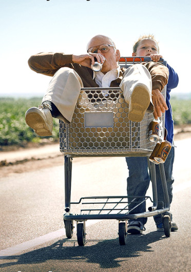 'Jackass Presents: Bad Grandpa' is slated to hit theaters nationwide Oct. 25.  Credit: Courtesy of Paramount Pictures