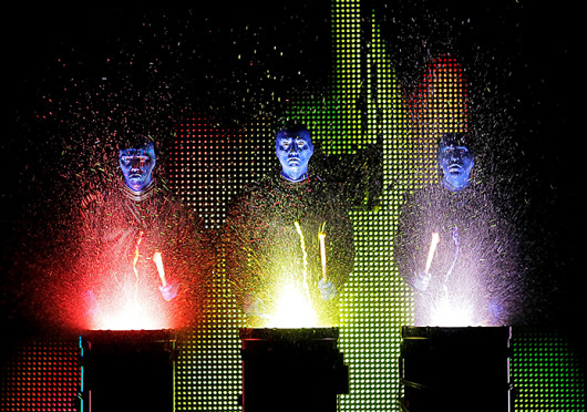The Blue Man Group is slated to perform at the Ohio Theatre Nov. 1 through Nov 3.  Credit: Courtesy of Paul Kolnik