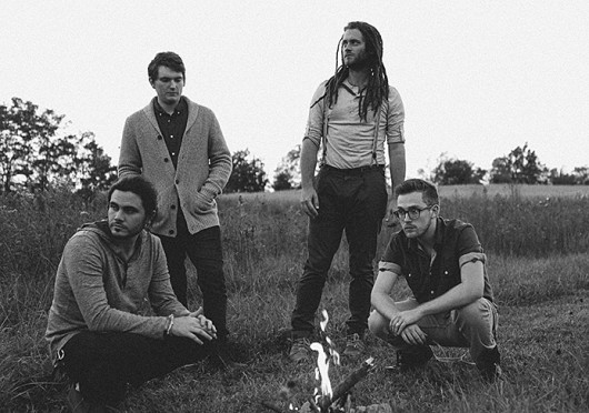 Guitarist of the Columbus band Fever Fever, Wes Black, said the group seeks out 'peaceful spots' to connect with nature and write its music.  Credit: Courtesy of Kaitlin Dunn