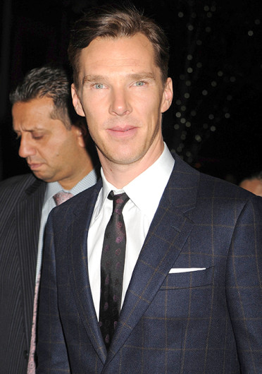 Benedict Cumberbatch attends The Cinema Society with Vanity Fair and Richard Mille screening of DreamWorks Pictures' 'The Fifth Estate' at Crosby Street Hotel in New York. 'The Fifth Estate' is set to open Oct. 18.  Credit: Courtesy of MCT