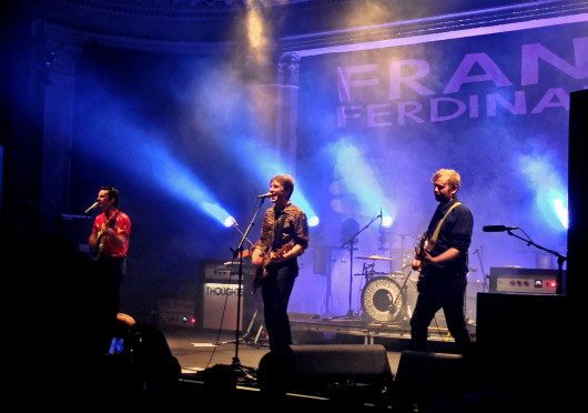 Review: Franz Ferdinand brings dance party all the way from