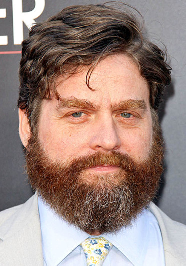 Actor Zach Galifianakis. Galifianakis interviewed pop star Justin Bieber on the actor's latest installment of 'Between Two Ferns.' Credit: Courtesy of MCT