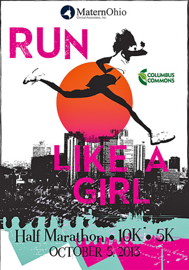 Run Like a Girl Columbus, a for-women only race, is scheduled to take place Oct. 5, starting and ending at Columbus Commons.  Credit: Courtesy of Abby Sheard