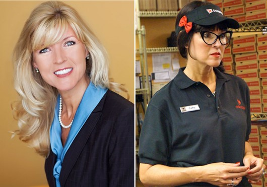 Donatos chairwoman Jane Grote Abell is slated to star on 'Undercover Boss' Oct. 11 at 8 p.m.  Credit: Courtesy of CBS / Siera Hanson