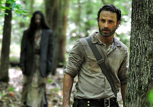 Andrew Lincoln, who plays Rick Grimes, in a scene from 'The Walking Dead,' which is set to return Oct. 13. Credit: Courtesy of MCT