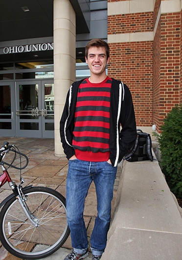 Sean Jepsen, a third-year in finance, had his bike stolen in the OSU campus area, but his parents later found it on Craigslist. Credit: Shelby Lum / Photo editor