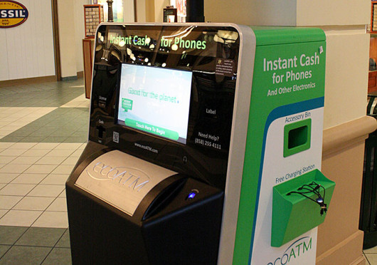 An Ecoatm A Kiosk That S Back Used Electronics Directly From Consumers For Cash