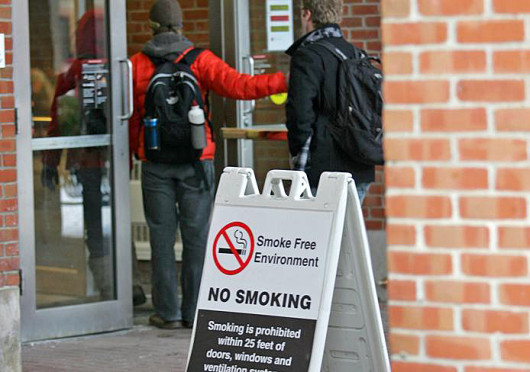 OSU is planning to enforce a campus-wide tobacco ban in January 2014 that will prohibit the use of cigarettes and other products on campus.