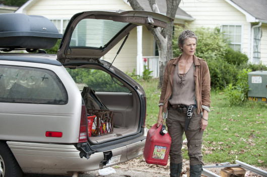 Carol (Melissa McBride) in a scene from Season 4 Episode 4 of 'The Walking Dead. Credit: Courtesy of Gene Page / AMC