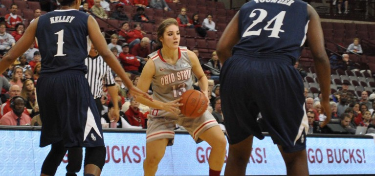 Ameryst Alston, Cait Craft lead Ohio State women's basketball to upset of No. 1 seed Penn State