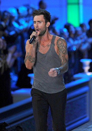 Adam Levine performs with band- Maroon 5 during the 2011 Victoria's Secret Fashion Show. Levine was recently named 'People Magazine's' 2013 Sexiest Man Alive. Credit: Courtesy of MCT