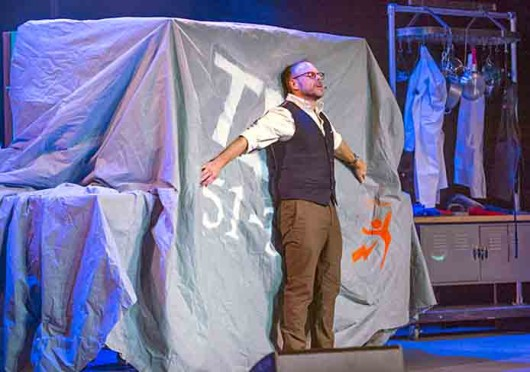 Food Network star Alton Brown is set to be at the Palace Theatre Nov. 8 for his Alton Brown Live! The Edible Inevitable Tour. Credit: Courtesy of Dan Grody