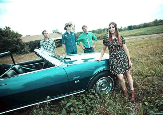 """""""I never thought I had a singer's voice but I loved singing (and) Bob Dylan really inspired me with his different voice,"""" said Angela Perley, frontwoman of Columbus-based band Angela Perley and The Howlin' Moons. Credit: Courtesy of Kevin James"""