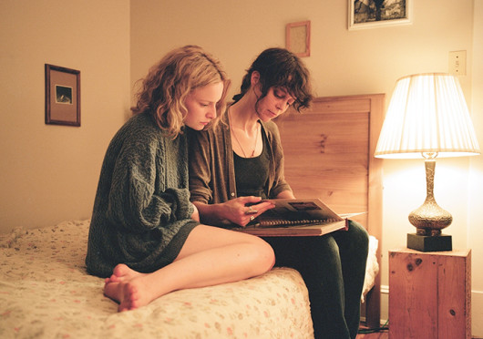 Taryn (Deragh Campbell) and Kim (Kim Taylor) in a scene from Matt Porterfield's 'I Used To Be Darker.' The film is set to be screened Nov. 22 at the Wexner Center for the Arts Film/Video Theater.  Credit: Courtesy of Strand Releasing