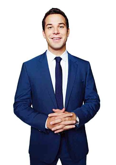 Skylar Astin, one of the stars of TBS' new sitcom 'Ground Floor,' which airs Thursdays at 10 p.m.  Credit: Courtesy of TBS