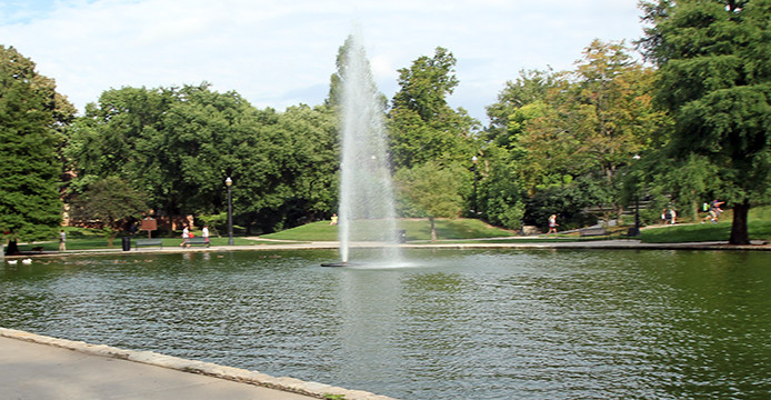 Mirror Lake jump uncertain as sustainability renovation continues