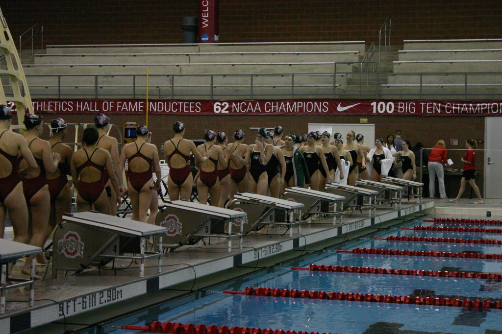 Gallery Ohio State Women S Swimming Wins Against Ohio University 193 106 The Lantern