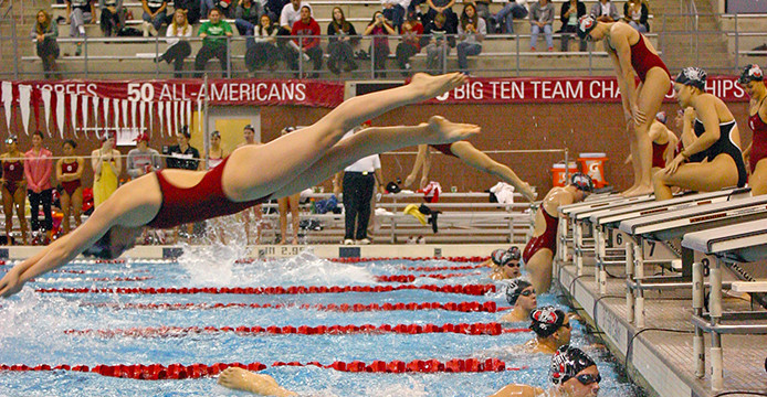 Women's swimming set to host Ohio State Invitational