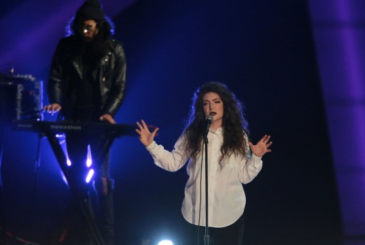 Lorde performs at the Nokia Theater in Los Angeles. Lorde's rumored boyfriend is the subject of many One Direction fans' tweets following comments she made about the English boy band. Credit: Courtesy of MCT