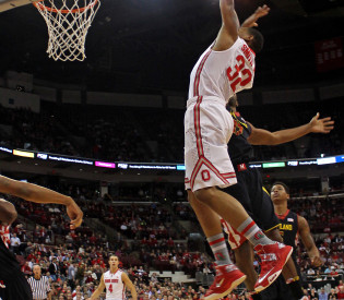 Ohio State downs Maryland, 76-60, in Big Ten/ACC Challenge