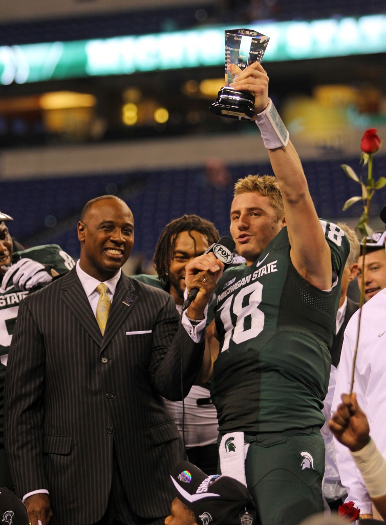 Michigan State ends Ohio State's chase for a National