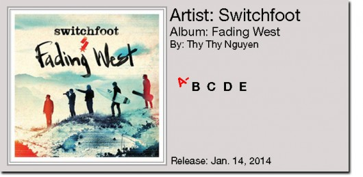 "Switchfoot: ""Fading WesT"""