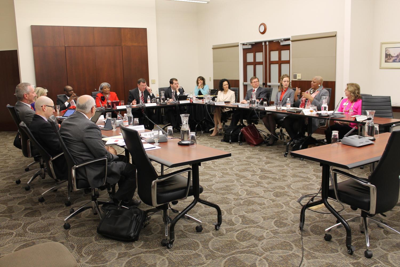 The full OSU Board of Trustees met Jan. 31. Credit: Lauren Weitz / Lantern photographer