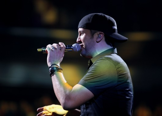 Luke Bryan performed Jan. 16 at the Schottenstein Center.  Credit: Ritika Shah / Asst. photo editor