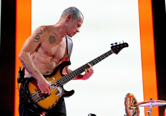 Red Hot Chili Peppers bassist Michael Peter Balzary, who goes by Flea, performs. The band played at the Schottenstein Center June 4, 2012. Credit: Kelly Roderick / For The Lantern