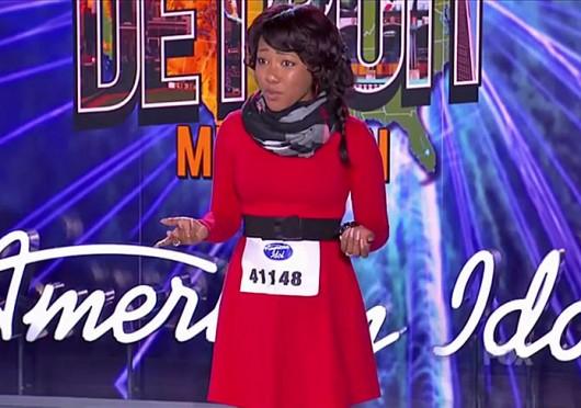 A screenshot of Columbus native Sydney Arterbridge auditioning on Fox's 'American Idol.' Credit: Fox's 'American Idol'