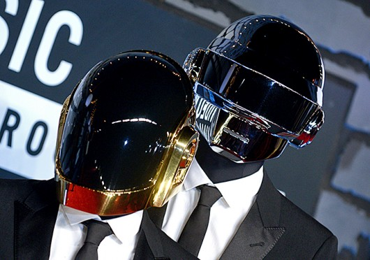 Electronic duo Daft Punk is scheduled to collaborate with R&B singer Stevie Wonder at the 56th Grammy Awards Jan. 26.  Credit: Courtesy of MCT