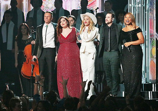 Kacey Musgraves at the 56th Annual Grammy Awards in Los Angeles Jan. 26.  Credit: Courtesy of MCT