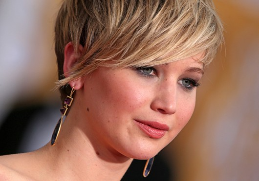 Jennifer Lawrence attends the 20th Annual Screen Actors Guild Awards Jan. 18.  Credit: Courtesy of MCT