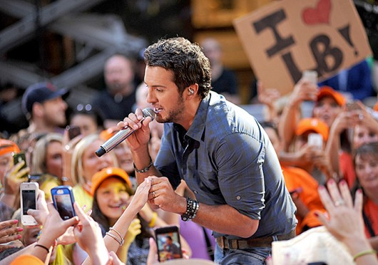 Luke Bryan is set to perform at the Schottenstein Center Jan. 16.  Credit: Courtesy of MCT