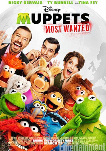"""Muppets Most Wanted"" is set to open Mar. 21."