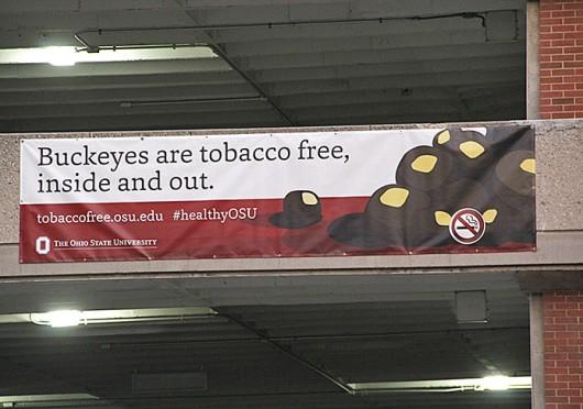 The Ohio State Columbus campus became tobacco free beginning Jan. 1.  Credit: Ritika Shah / Asst. photo editor