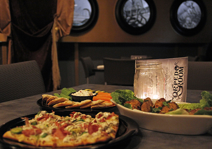 New Restaurant Torpedos Into South Campus Gateway The