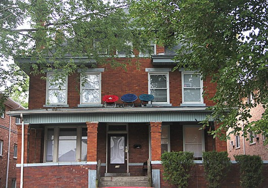 Some OSU students living on 13th Avenue discovered a stranger was living in their basement in September. Credit: Ritika Shah / Asst. photo editor