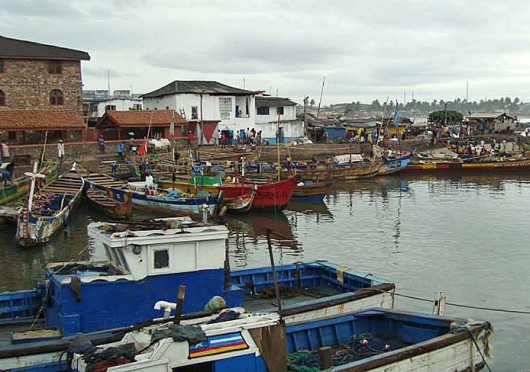A view of Cape Coast, Ghana. Some Buck-I-SERV participants traveled there in May. Credit: Kristen Mitchell / Editor-in-chief