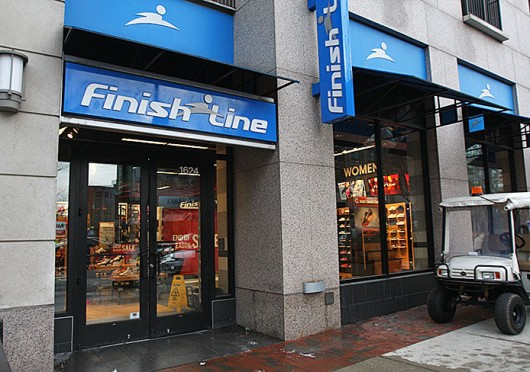 Finish Line, located at 1624 N. High St. in the South Campus Gateway, is set to close Jan. 11. Credit: Shelby Lum / Photo editor