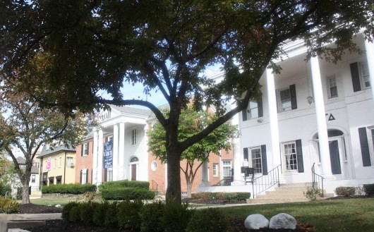 Greek Row, located on 15th Avenue in Columbus, on Sept. 25. Credit: Lantern file photo