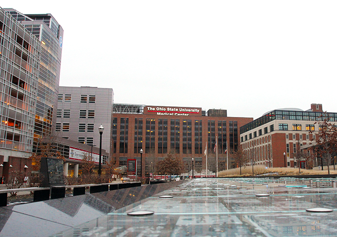 The OSU Wexner Medical Center is located at 410 W. 10th Ave.  Credit: Lantern file photo