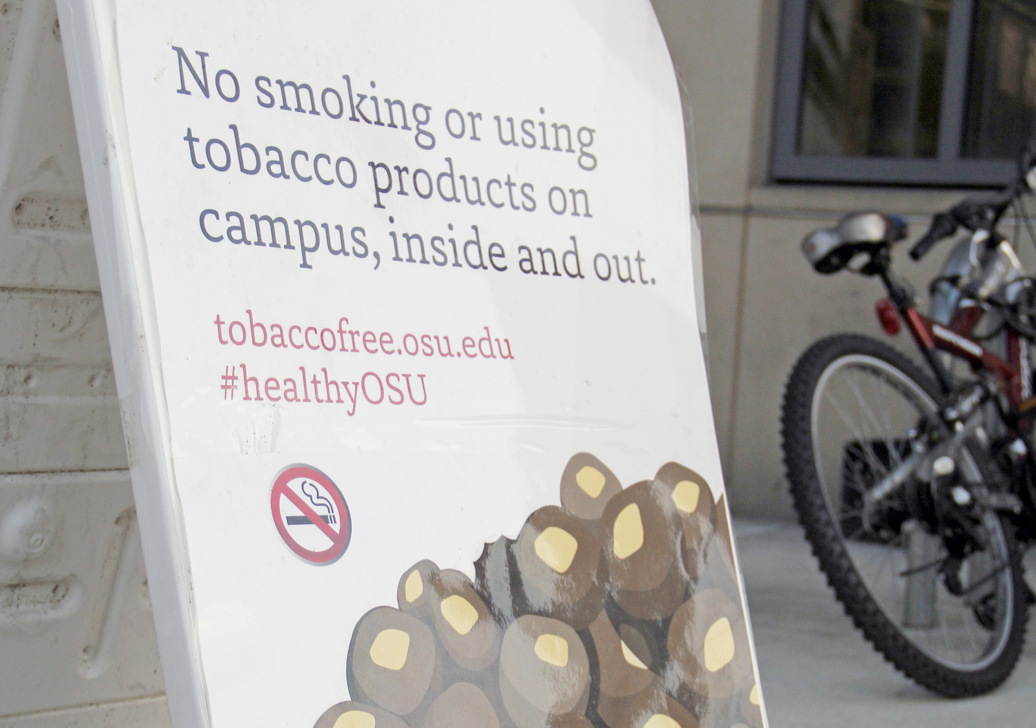 Campus ban of tobacco products--smokers only please?