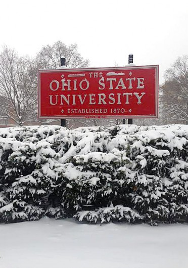 "Some Ohio State campuses are set to be closed to various degrees Monday because of ""extreme cold conditions"" and ""extreme temperatures."""