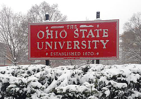 All Ohio State campuses to be closed Monday because of 'extreme' weather